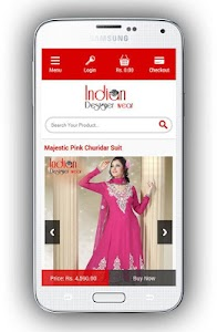 Indian Designer Wear screenshot 1