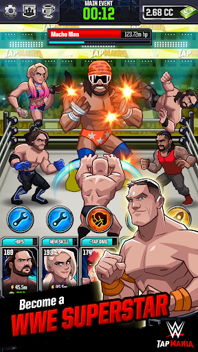 WWE Tap Mania: Get in the Ring in this Idle Tapper 17637.20.0 screenshots 2