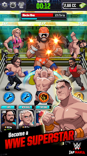 WWE Tap Mania: Get in the Ring in this Idle Tapper Screenshot