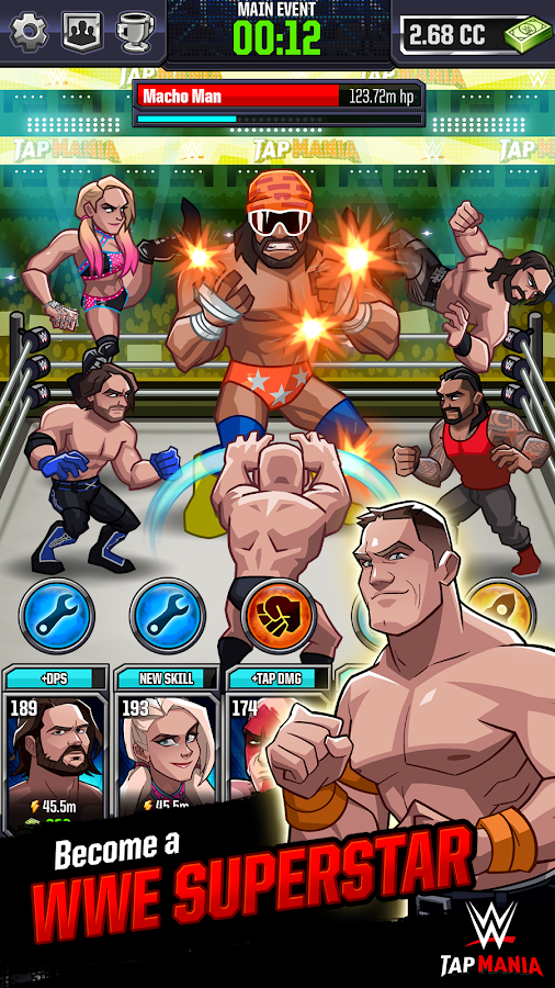 WWE Tap Mania- screenshot