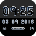 MONOO Digital Clock Widget icon
