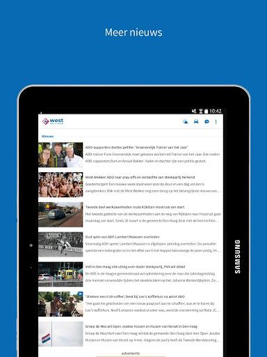 Omroep West 8.9.0 screenshots 8