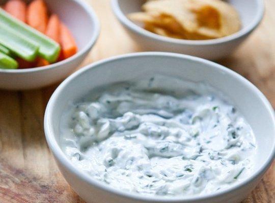 Herbed Yogurt Dip Recipe