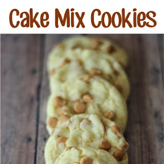 Butterscotch Cake Mix Cookie Recipe!