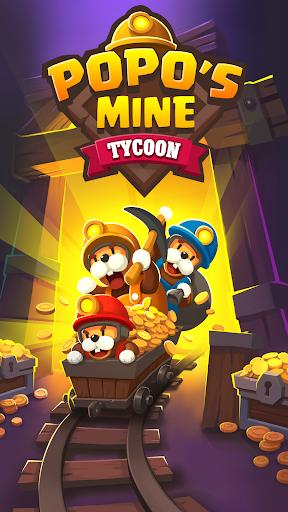 Popo's Mine - Idle Tycoon Game screenshots 1