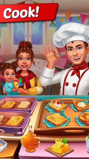 COOKING CRUSH: Cooking Games Craze & Food Games 1.1.2 screenshots 3