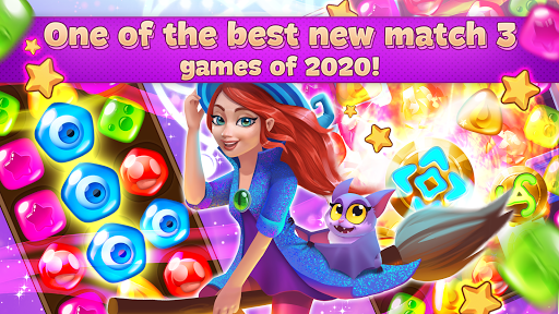 Charms of the Witch: Magic Mystery Match 3 Games 2.23.0 updownapk 1
