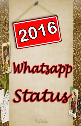 2016 Whatsapp Status