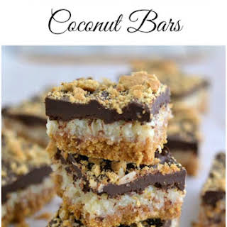 Chocolate Covered Coconut Bars.