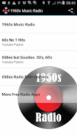 Screenshot of 60s Radio Top Sixties Music