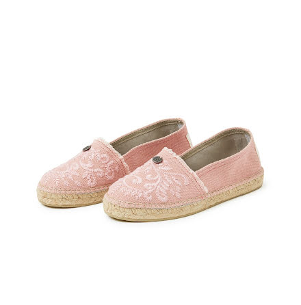 Oddspadrillos Embroidered Mid Pink - Odd Molly