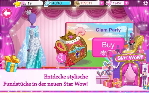 Star Girl Screenshot
