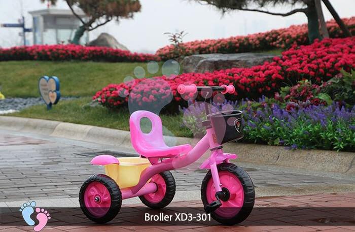 Xe đạp ba bánh trẻ em Broller XD3-301 2