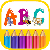 ABC Coloring Painting Pages