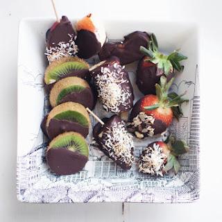 Dark Chocolate Maca Fruit Bites