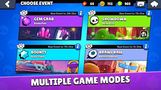 Brawl Stars (MOD, Private server / a lot of money) v28.189 5