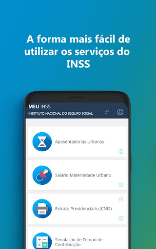 Meu INSS u2013 Central de Serviu00e7os 3.12.1 screenshots 1