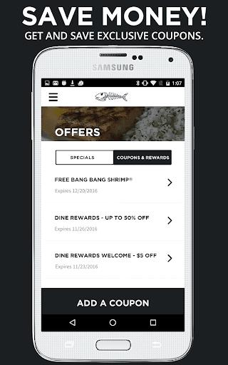 Bonefish Grill Screenshot