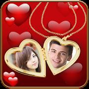 Couple Locket Photo Frames