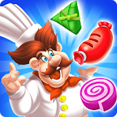 Yummy Food Chef Match 3 Android APK Download Free By MediaForGame