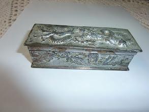 Photo: <Gift 3> Pen case? Cigarette case?