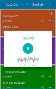 Translate voice - Pro 8.9