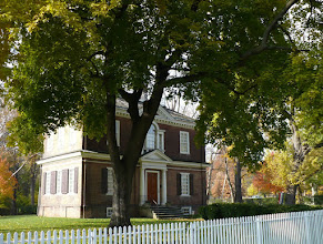 Photo: 4. Woodford. The facade of the house faces Ridge Avenue (US 13), an important and busy thoroughfare.