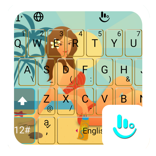 Summer Girls Keyboard Theme