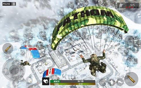 ApkMod1.Com Winter survival Battle Royale + МOD (Free Shopping) Free For Android Action Game