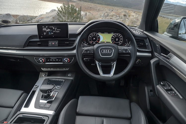 The interior is clean and luxurious but you will want to select a few items from the options list. Picture: QUICKPIC