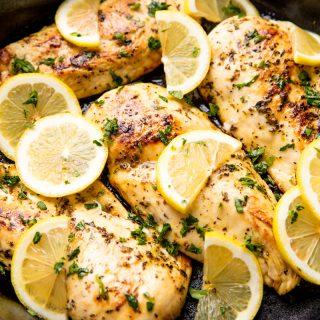 Easy Lemon Chicken.