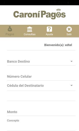 Caronu00ed Pagos Banco Caronu00ed, C.A. Banco Universal 1.5.3 screenshots 3