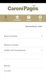 Caroní Pagos Banco Caroní, C.A. Banco Universal - náhled
