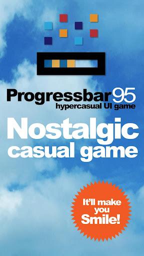 Progressbar95 - easy, nostalgic hyper-casual game 0.40 screenshots 1