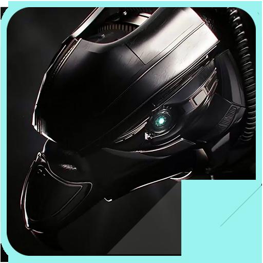 Black Robot Transformer 4K LWP