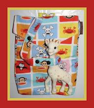 Photo: *Monkey Tiles* custom Mai Poketto custom Toy Tether