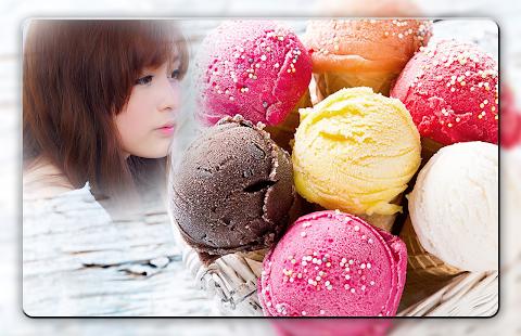 Ice Cream Photo Frames - náhled