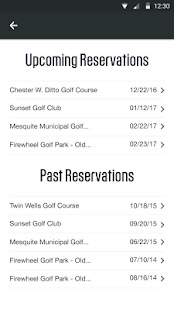 Golf.com Tee Times- screenshot thumbnail