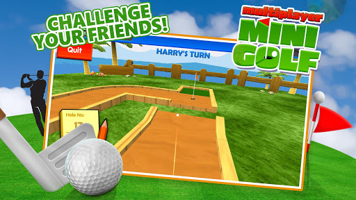 Multiplayer Mini Golf  captures d'écran 2