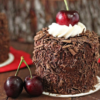 Black Forest Mini Cakes.