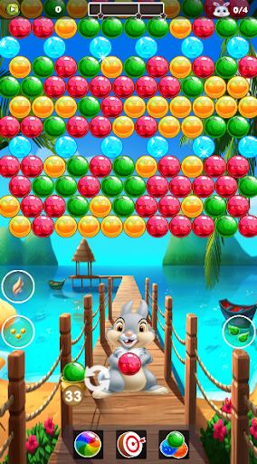 Bunny & Fox Pop 2020 : Bubble Shooter android2mod screenshots 8