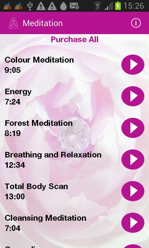 Meditation and More- screenshot