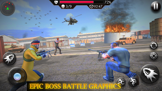 Cover Strike Battle Royale : Free Shooting Games 5