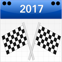 Formula Race Calendar 2017 icon