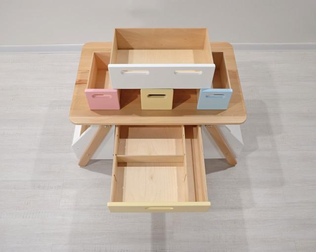 Детский столик для творчества Зефирный