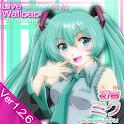 Miku 2D Anime LiveWallpaper icon