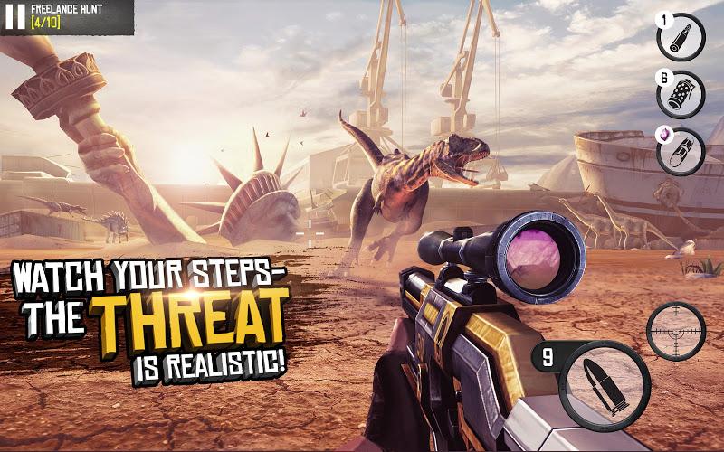 Best Sniper Legacy: Dino Hunt & Shooter 3D Screenshot 13
