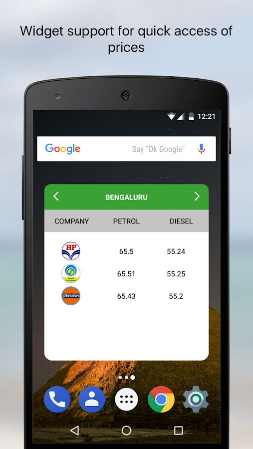 Daily Petrol Diesel Price in India GST Rate Finder- screenshot