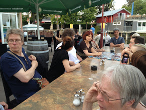 Photo: After the Summer School dinner down by Bodensee