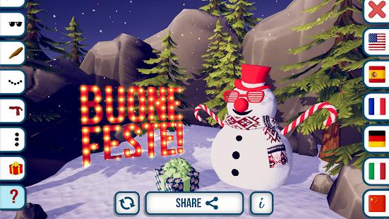 Build a Snowman 3D - náhled